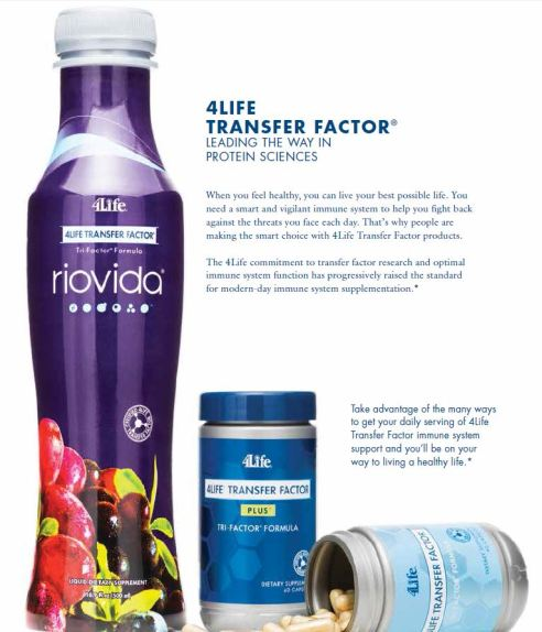 Transfer Factor Products