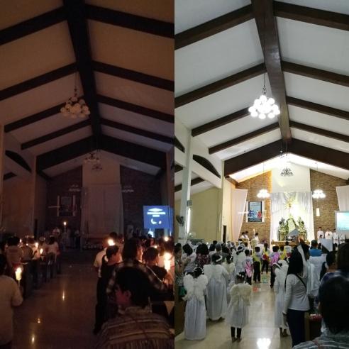 Easter Vigil Mass Sta Marta